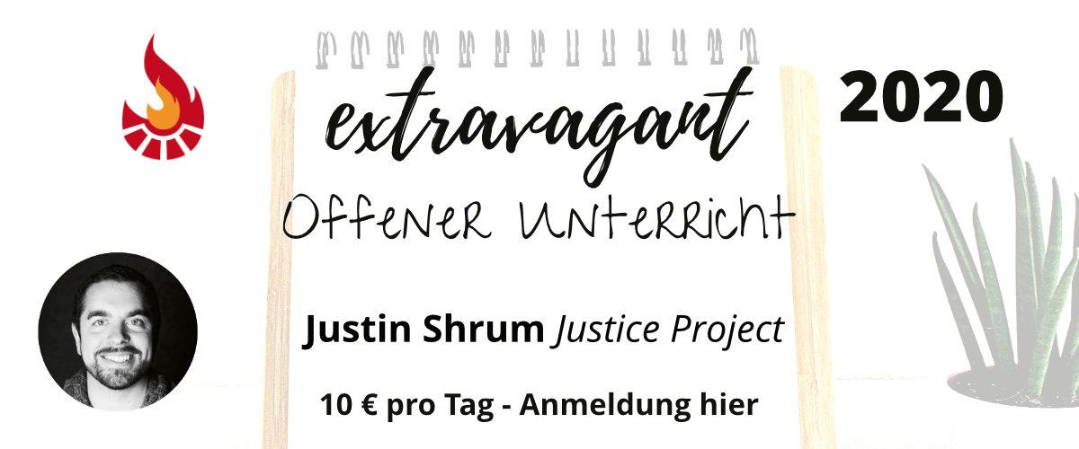 Offener Unterricht Justin Shrum